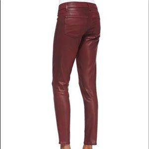 Paige Jeans Verdugo Ankle Shiraz Silk 32 MSRP $238